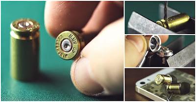 Como fazer headphones a partir de cartuchos de balas