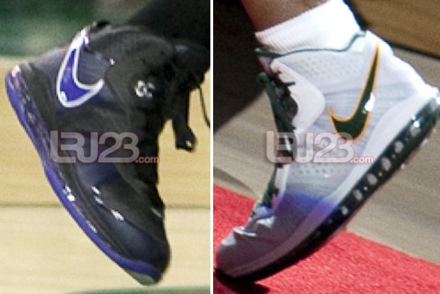 timeless design 24fd5 0a046 Nike LeBron 8 V2 WNBA PEs Diana Taurasi amp Swin Cash ...