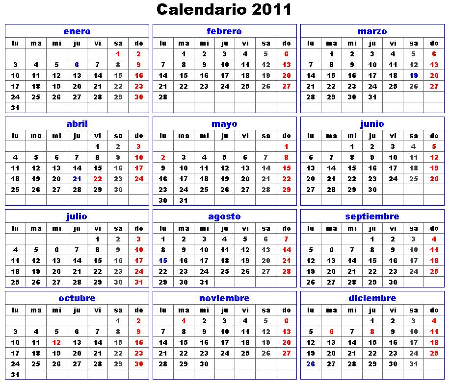Have you laughed today ?: Calendar 2011 în limba spaniolă