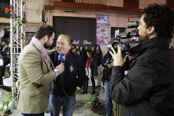 La Falla del Duc presente en los medios nacionales