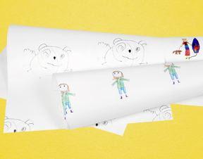 Dibujos de niños para decorar.