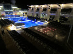 No one at the pool...that night