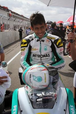 Hafizh Syahrin Abdullah PETRONAS RACELINE MALAYSIA