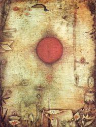 Ad marginem, por Paul Klee. Kunstmuseum Basel.