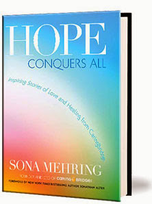 "New Book ""Hope Conquers All"" from the Founder of CaringBridge"