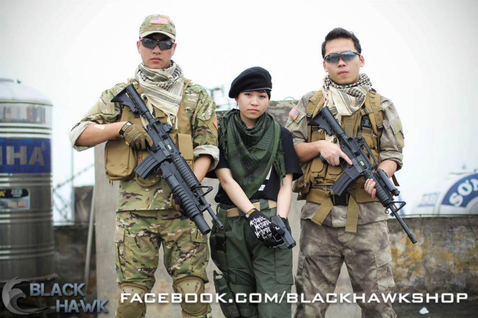 Bộ ảnh cosplay kiểu quân đội tuyệt đẹp của coser Việt - Ảnh 1