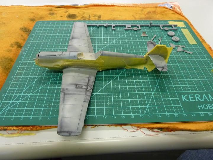 Bf-109 E-3 Tamiya 1/48 - Reforma pintura P1020476