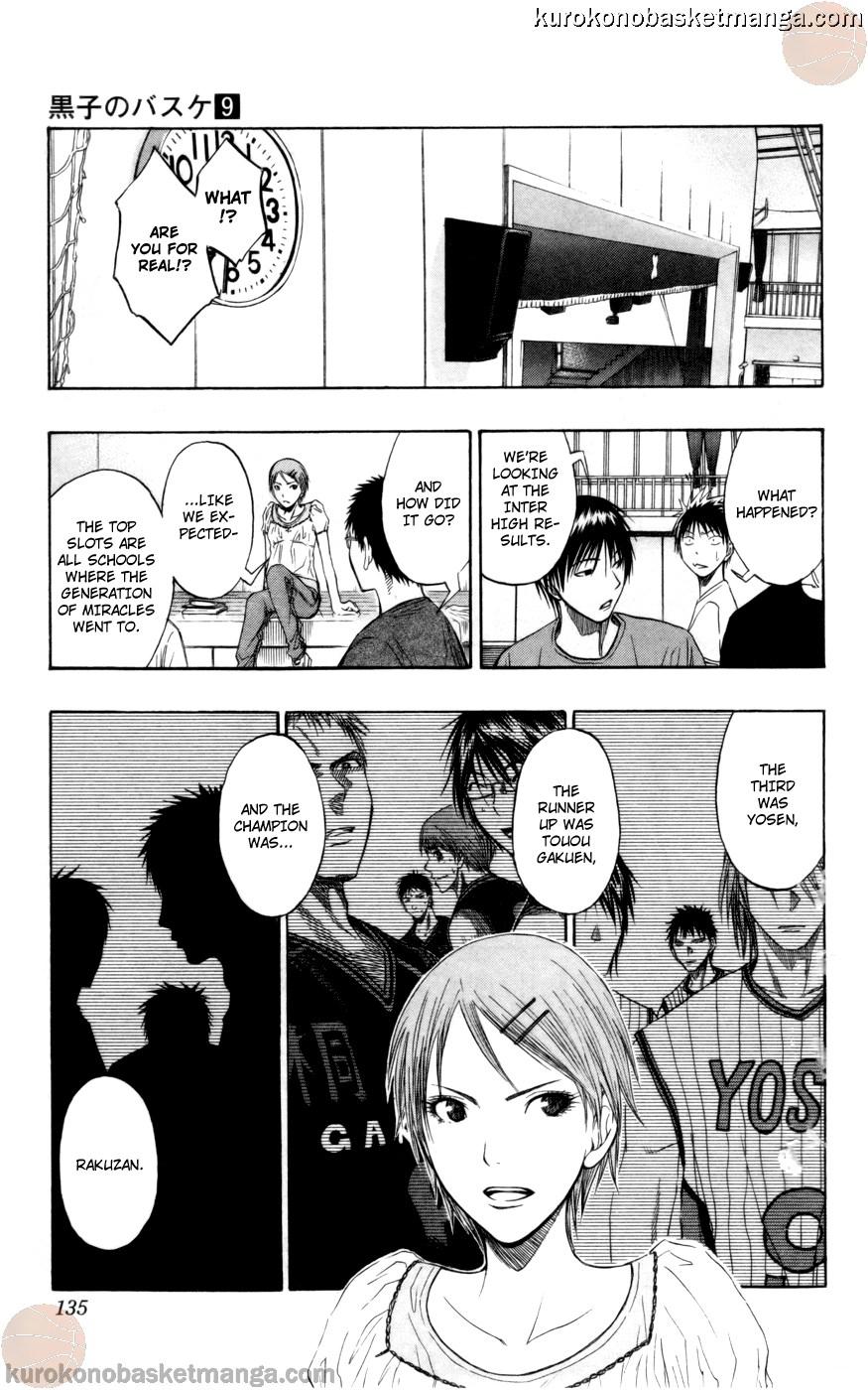 Kuroko no Basket Manga Chapter 77 - Image 09