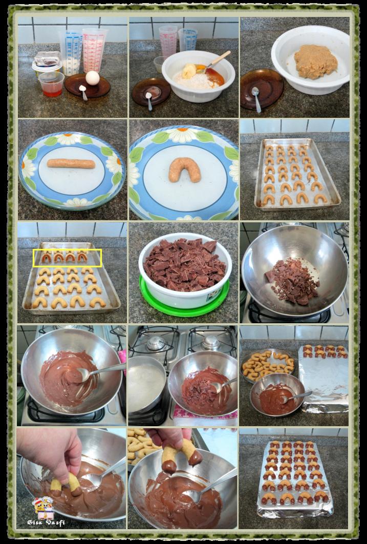Ferradurinha de aveia e chocolate 3