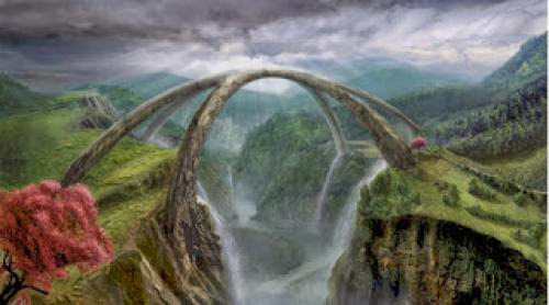 Bridge To Other Realms By Elizabeth