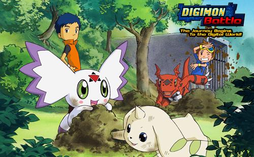 Digimon Battle kết thúc chuyến phiêu lưu trên đất Mỹ 1