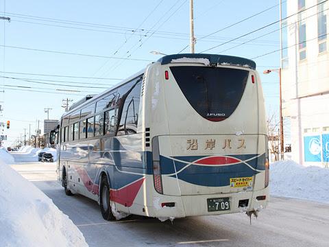 沿岸バス「留萌旭川線」快速便 ・709 留萌十字街到着