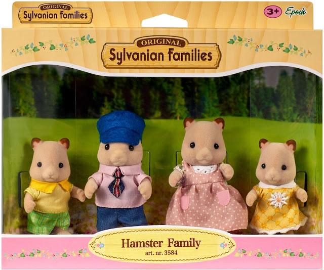 Gia đình chuột Hamster 4 người Sylvanian Families 3584 cho bé tha hồ xây dựng nên những câu chuyện kì thú