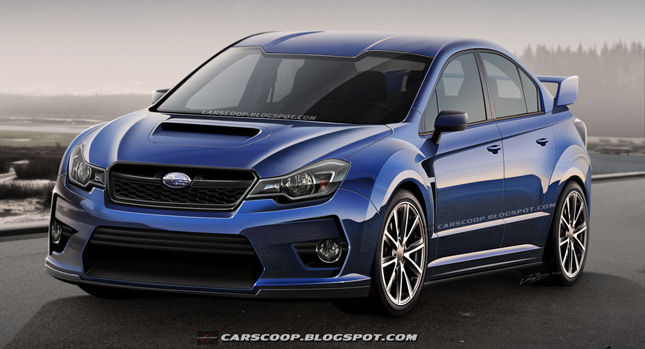 Las And Gentlemen What You See Here Could Potentially Be The All New Subaru Wrx But Before I Elaborate Allow Me To Take For A Short Trip Back