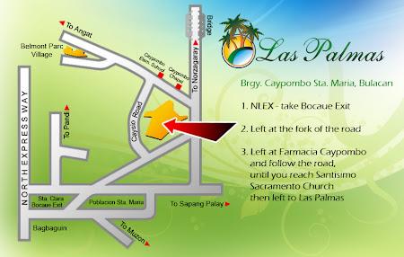 las palmas subdivision map