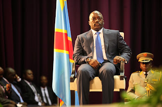 The DRC President Joseph Kabila in the closing ceremony of the national consultations on 5 October 2013.  MONUC Photo / M.  Asmani.