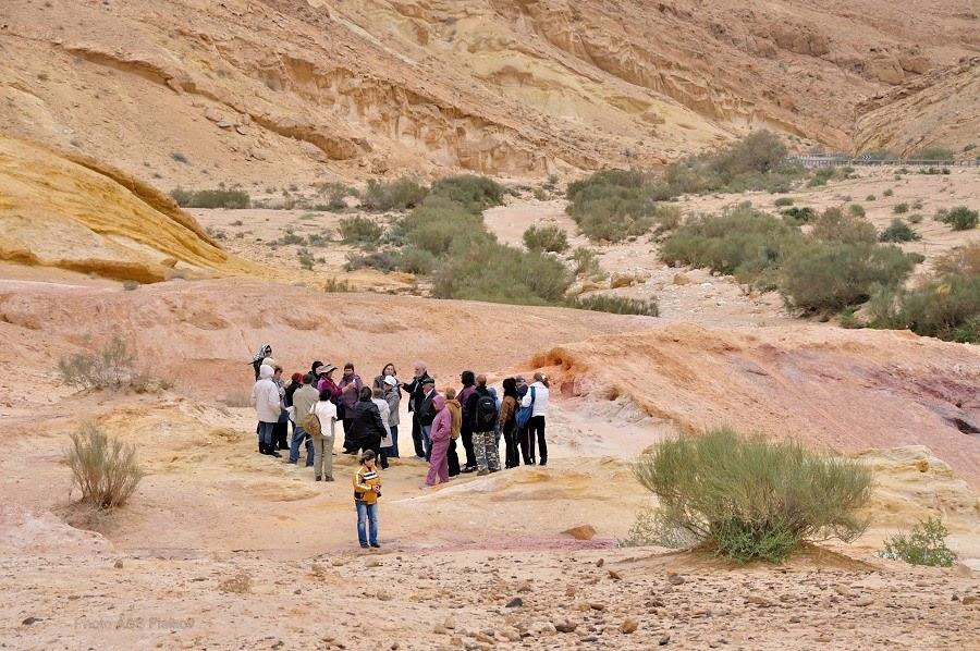 Экскурсия гида Светланы Фиалковой в пустыню Негев. Рассказ о Цветных Песках.