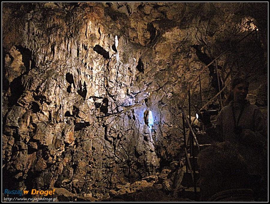szata naciekowa jaskini wierzchowskiej górnej