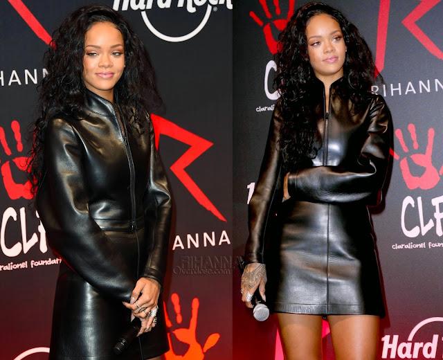 Rihanna in Azzedine Alaia, Lynn Ban