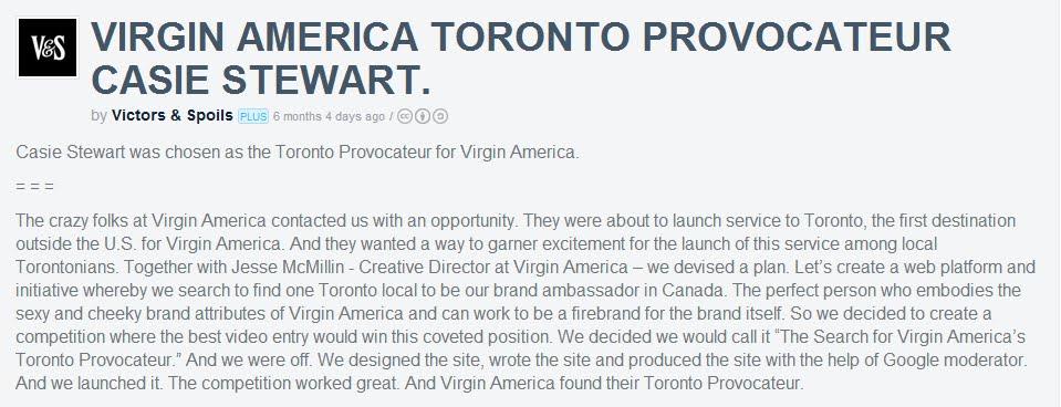 The Future, Ads & Content feat @SayMedia @VictorsnSpoils @VirginAmerica