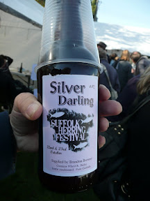 Silver Darling beer from Brandon Brewery