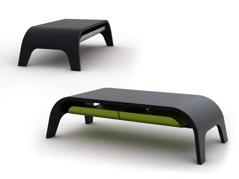Small Table Modern : more: http://www.solovyovdesign.by/en
