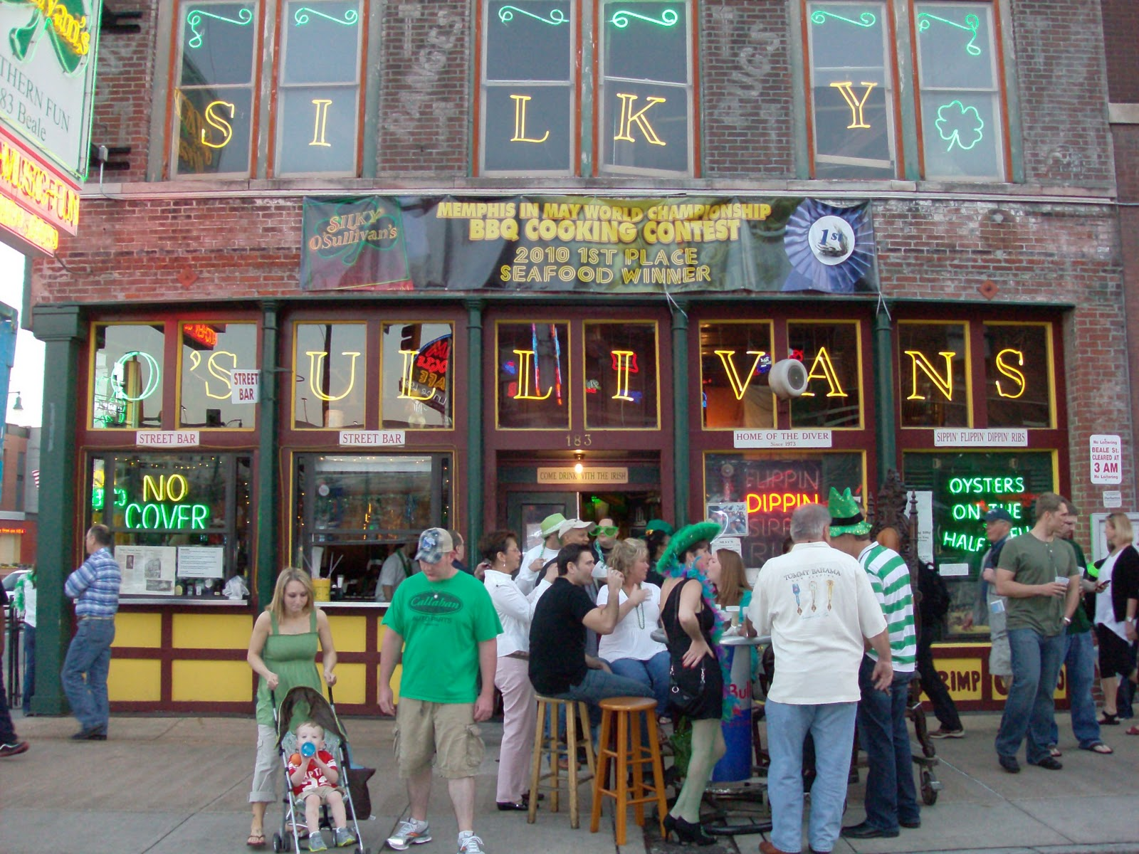 From Here To The Hard Rock Cafe Beale St