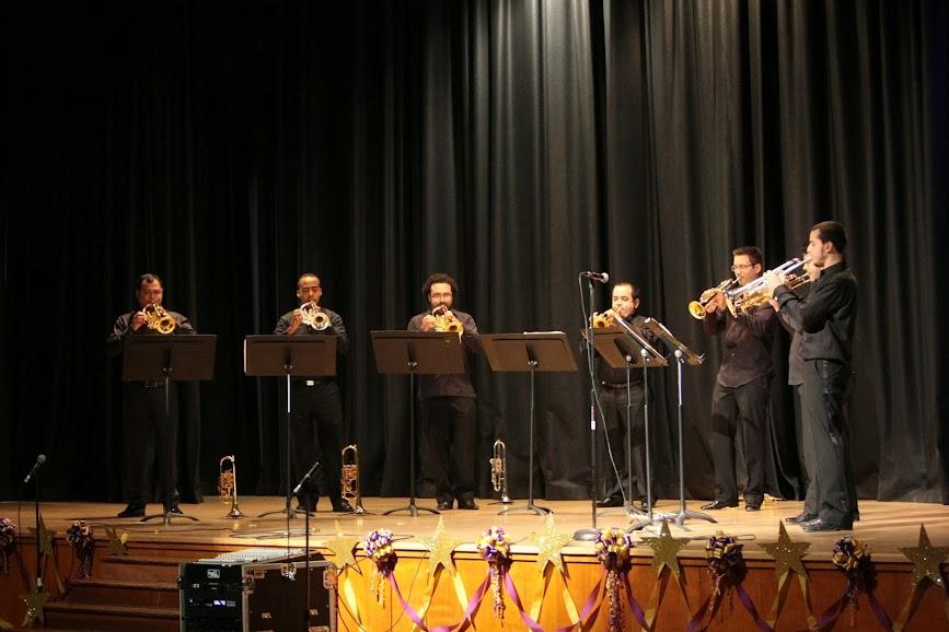 Para algunos de los que estaban en ese auditorio escolar, los 8 trompetistas venezolanos representaban, en carne y hueso, el sueño que tienen para sí mismos