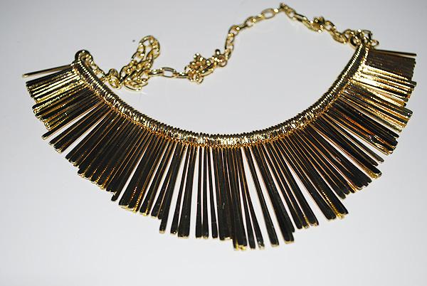 collana, collar, collare, oro, rigida, gold, oasap