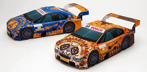 2014 Halloween Race Car Papercraft