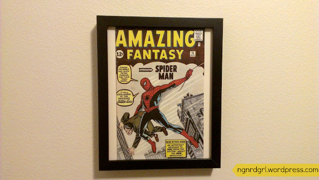 DIY Vintage Comic Book Wall Art by @ngnrdgrl