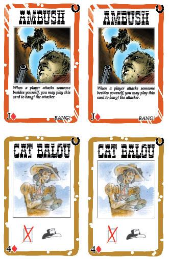 Robbers' Roost Orange Card New Borders