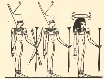 Forms of the Goddess Neith