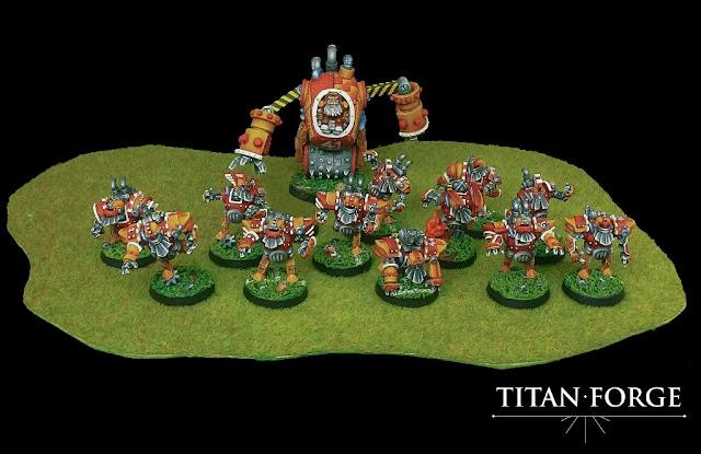 equipo enanos Titan Forge