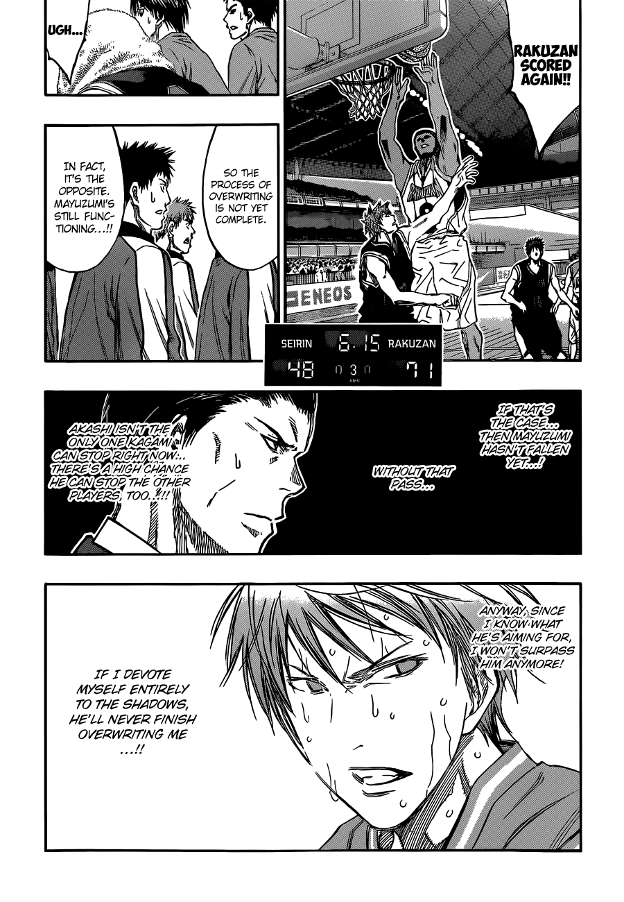 Kuroko no Basket Manga Chapter 250 - Image 10