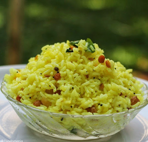Lemon Rice Recipe | How to make South Indian style Lemon Rice