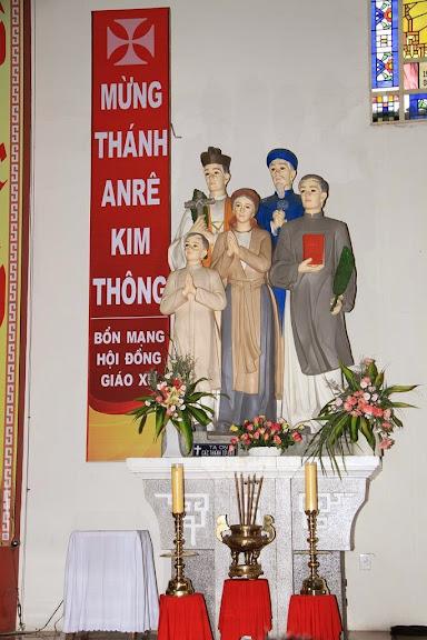 Ngày 15/7: Lễ Thánh Anrê  Kim Thông, bổn mạng Hội Đồng Giáo xứ giáo phận Nha Trang