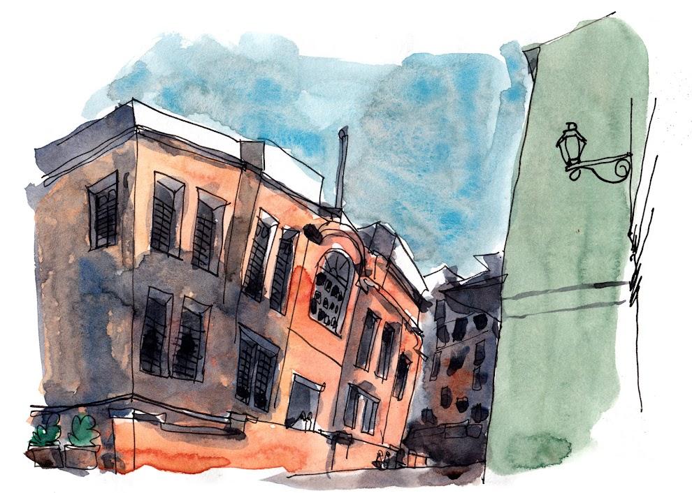 All my sketches from hong kong macau 2015 trip parka blogs for Bureau antonym