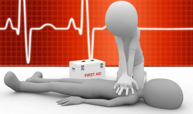Cardio-Pulmonary Resuscitation + Automated External Defibrillation (CPR+AED)