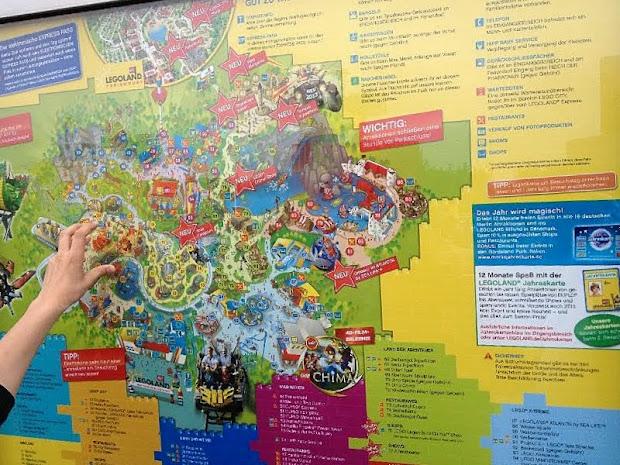 карта леголенда в германии