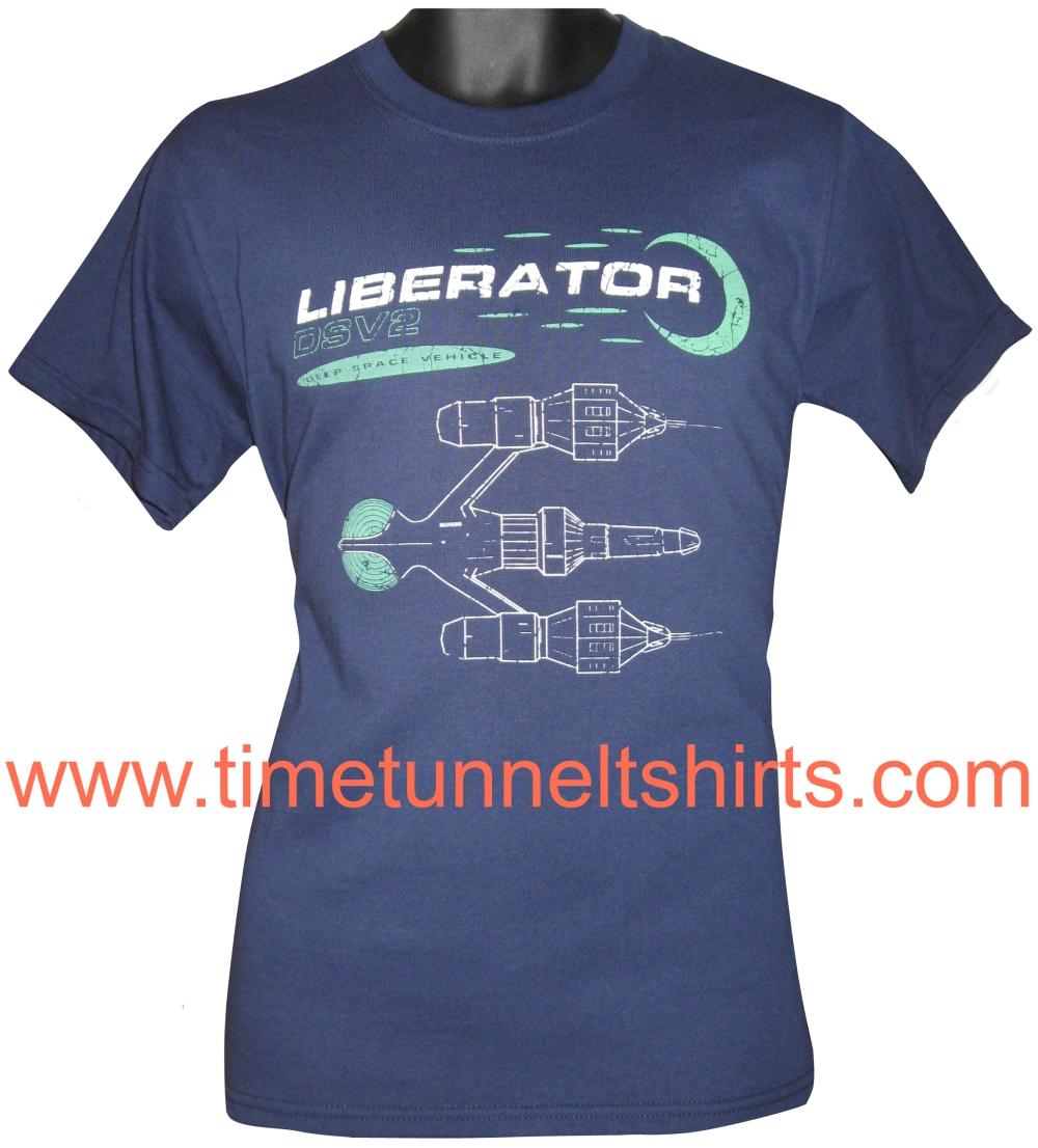 89ddd994 Blakes 7 Liberator t-shirt | TIME TUNNEL T SHIRTS