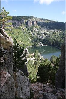 La Laguna Negra camino del Pico Urbión