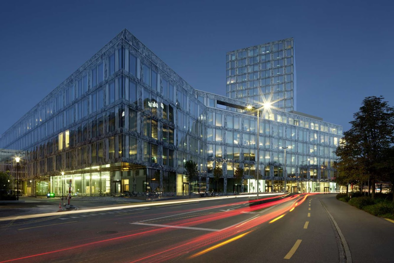 Switzerland: ALLIANZ HEADQUARTERS by WIEL ARETS ARCHITECTS