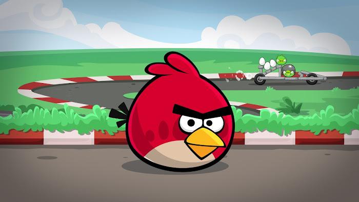 Hình nền về những chú chim điên trong Angry Birds
