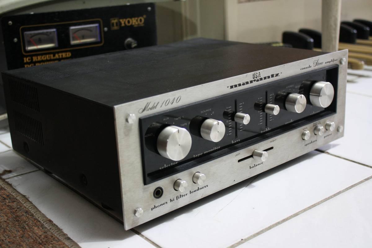 Audio2nd VintageMarantz Model 1040 Ca 1975 Lengkap