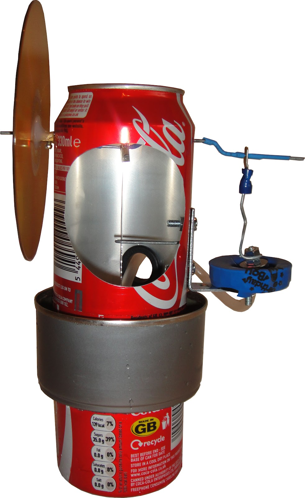 coke can stirling engine sale scrap to power