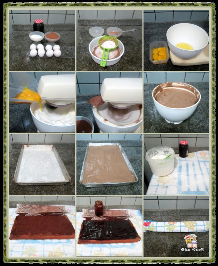 Rocambole de chocolate 3