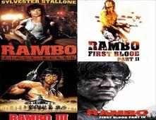 سلسله افلام Rambo للنجم سيلفستر ستالون