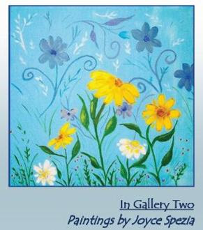 The Art of Joyce Spezia: An art exhibition at Framations Art Gallery in St Charles, MO. Exhibition Dates: August 17 - September 20, 2012.