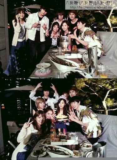 ▲許多好友參加徐玄的生日派對。(圖/擷自銀赫推特)